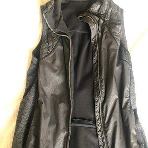 Faux Leather Lululemon Running Vest